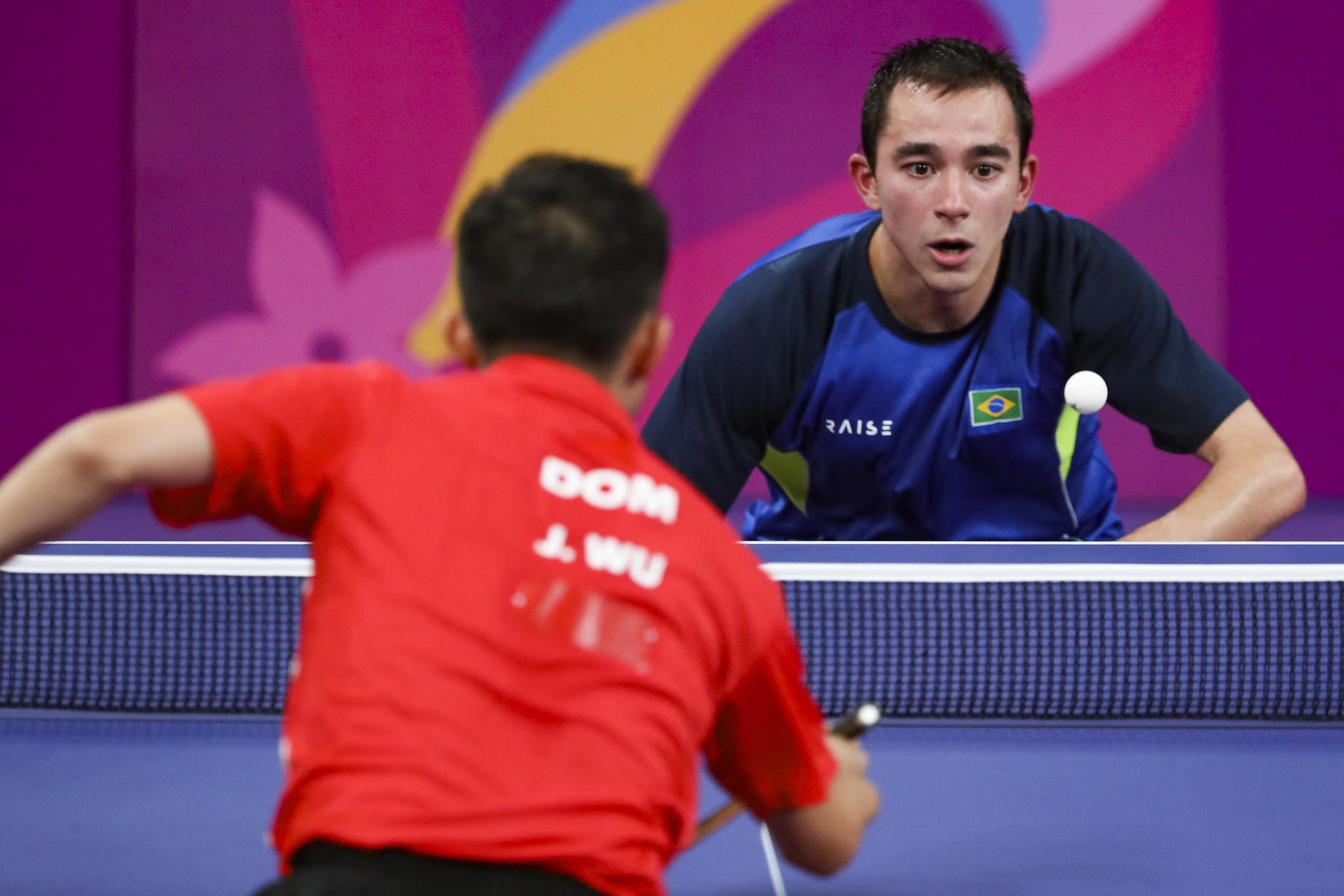 Hugo Calderano garantiu sua vaga individual em Tóquio-2020 com o ouro no Pan (Crédito: ITTF/Divulgação)