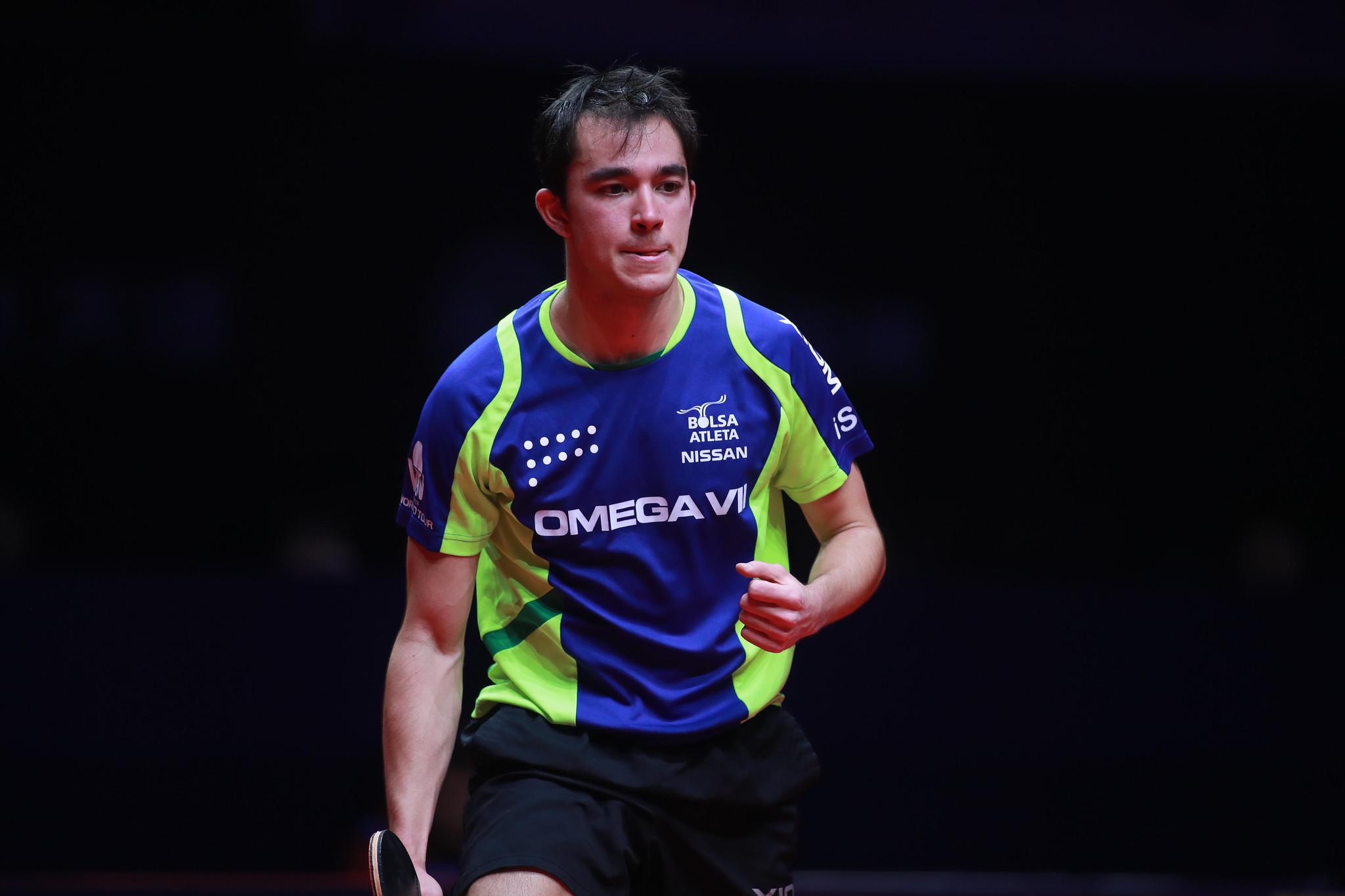 Hugo Calderano teve números expressivos ao longo de 2019 (Crédito: Divulgação/ITTF)