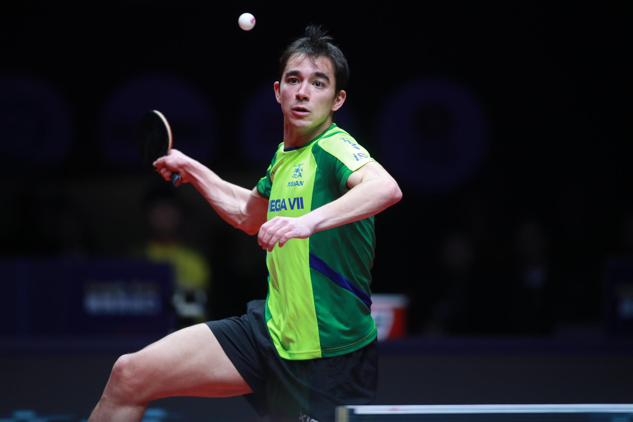 Hugo Calderano demonstrou solidez e alto nível de competitividade em 2019 (Crédito: Divulgação/ITTF)