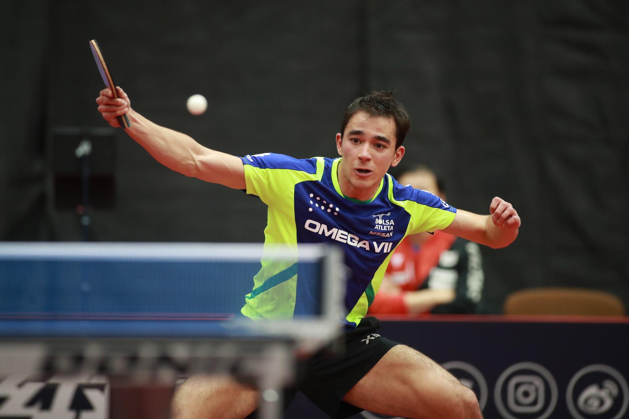 Hugo Calderano disputará seu quinto Aberto da Hungria de tênis de mesa (Crédito: Divulgação/ITTF)