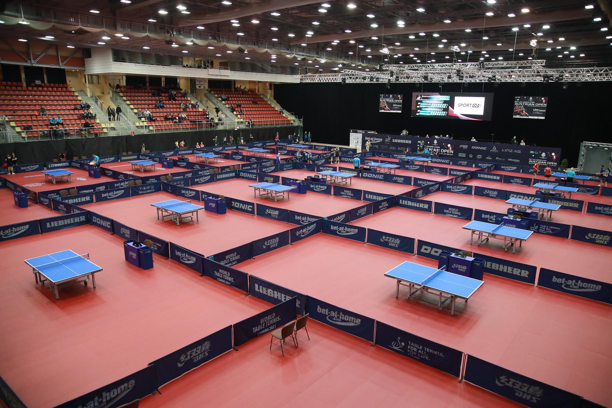 Mundial de Busan foi adiado três vezes antes de ser cancelado (Crédito: ITTF)
