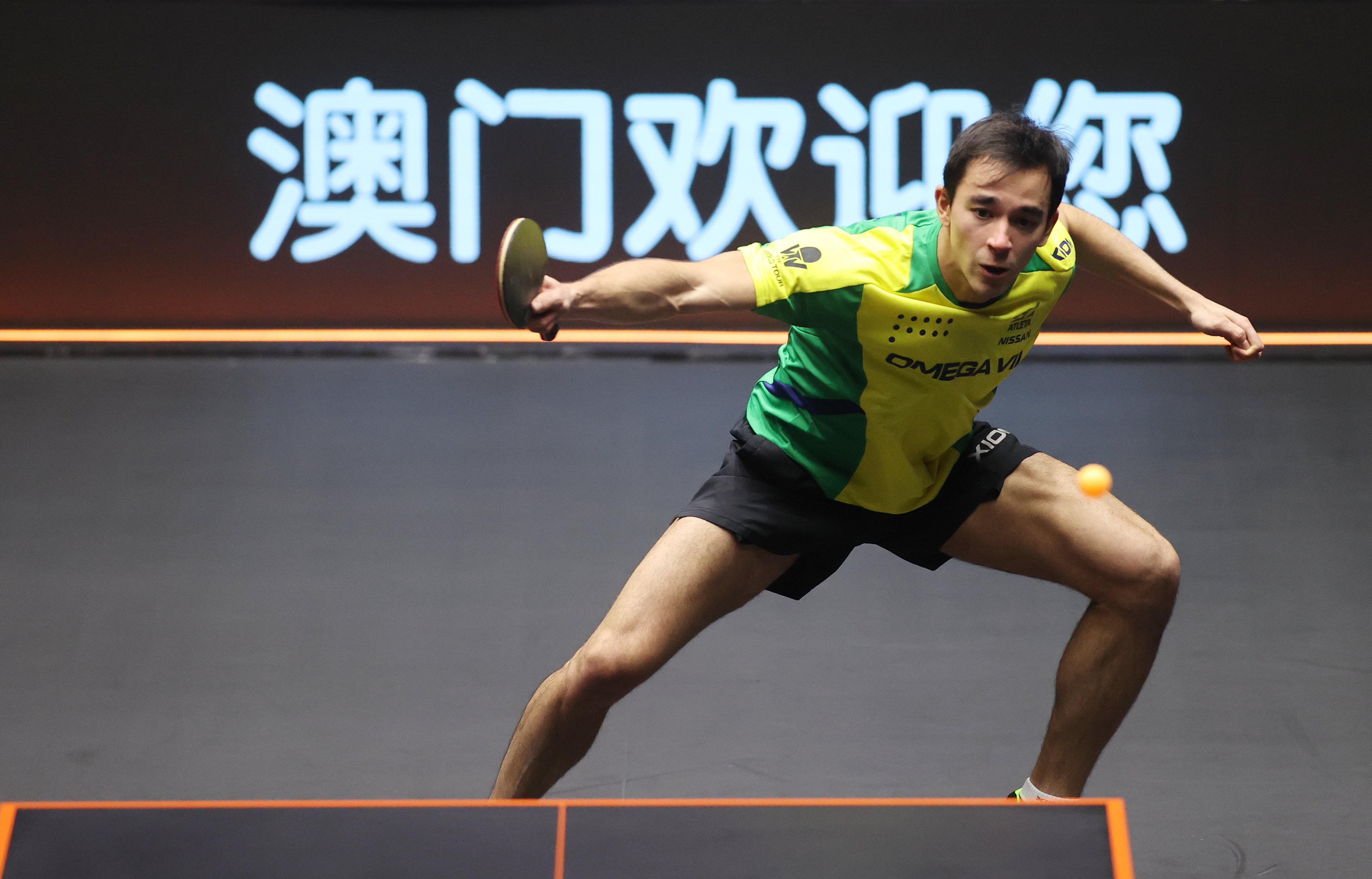 Hugo ocupa a sexta posição do ranking mundial (Crédito: Divulgação/ITTF)