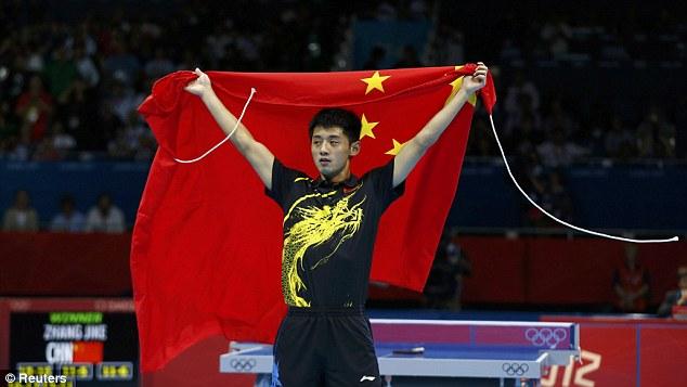 Zhang Jike foi o campeão nos Jogos de Londres (Crédito: Reuters)