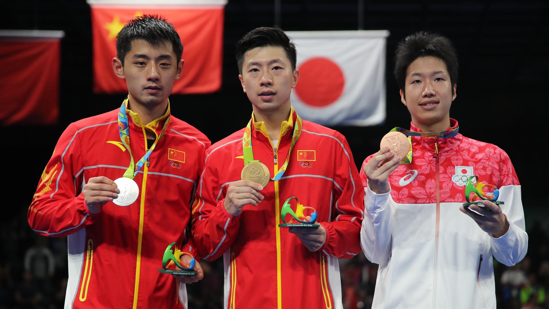 Ma Long foi o medalhista de ouro na Rio 2016 (Crédito: Xinhua)
